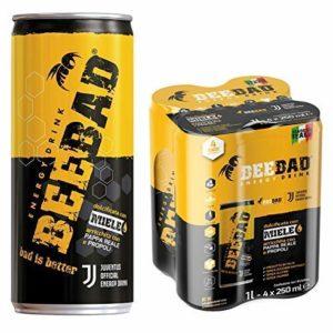 Beebad 4 Pack Bebida Energizante (Energy Drink)
